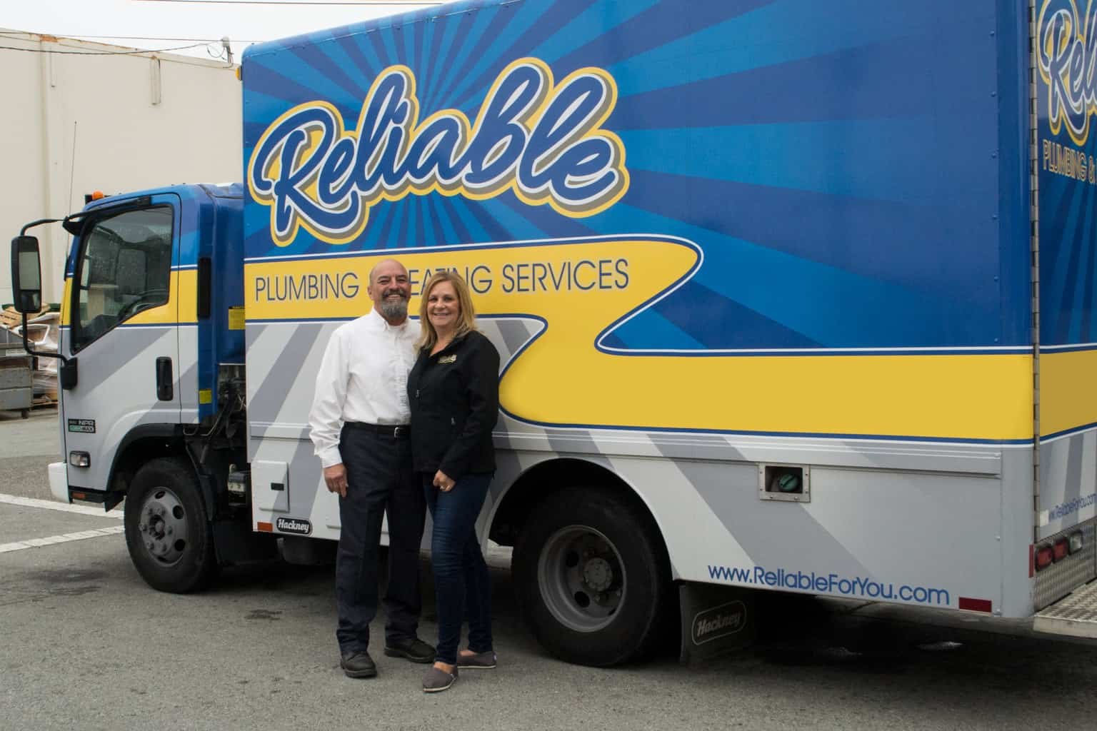 Reliable Plumbing and Heating Truck