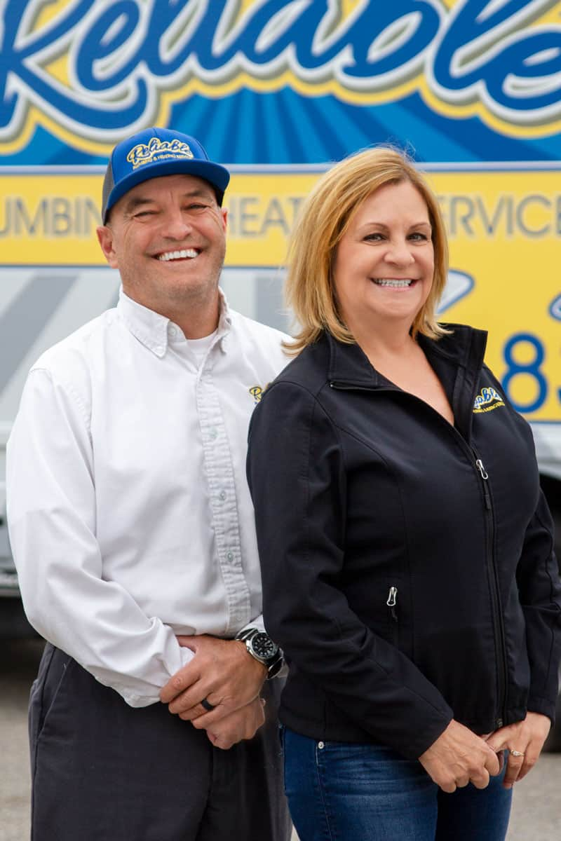 Reliable Plumbing & Heating Services John & Shelly Etter